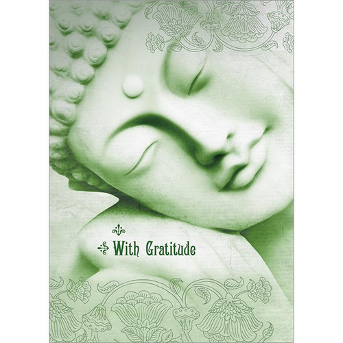 Gratitude Buddha Greeting Card