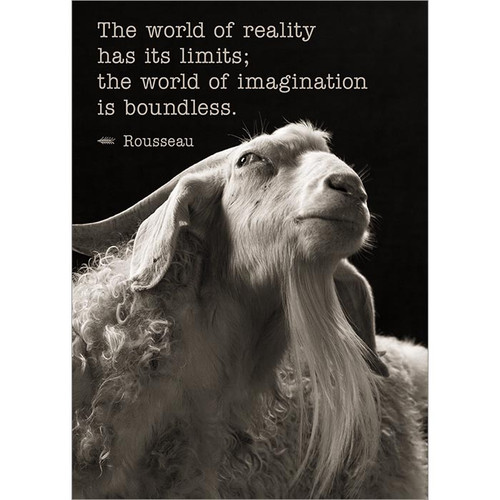 Imagination Is Boundless Greeting Card