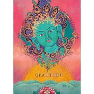 Green Tara Gratitude Greeting Card