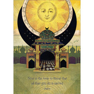 Now Is the Time Greeting Card
