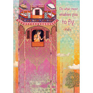 Enables You to Fly Greeting Card