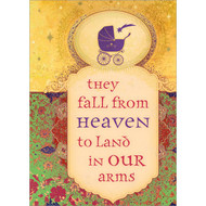 They Fall from Heaven Greeting Card