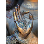 Healing Blessings Greeting Card