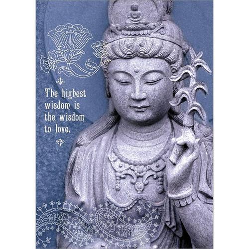 Highest Wisdom Greeting Card