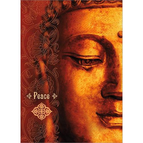 Peace Buddha Greeting Card