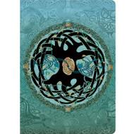 Celtic Mandala Lined Travel-Size Journal
