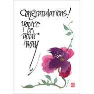 You're on Your Way Greeting Card