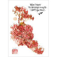 I Count You Twice Greeting Card