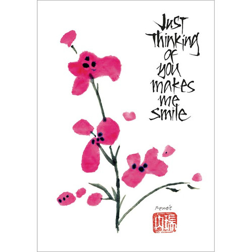 Just Thinking of You Greeting Card