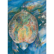Turtle Mother Greeting Card