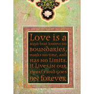 Love Is a Bond Greeting Card