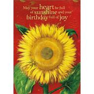Sunshine Birthday Greeting Card