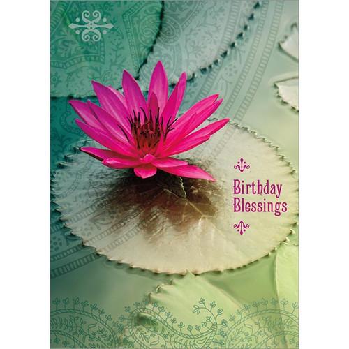 Birthday Blessings Greeting Card