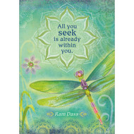 All You Seek Greeting Card