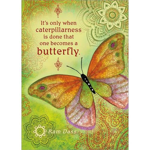Caterpillarness Greeting Card