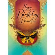 Happy Birthday, Beautiful Greeting Card