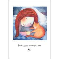 Cat Medicine Greeting Card