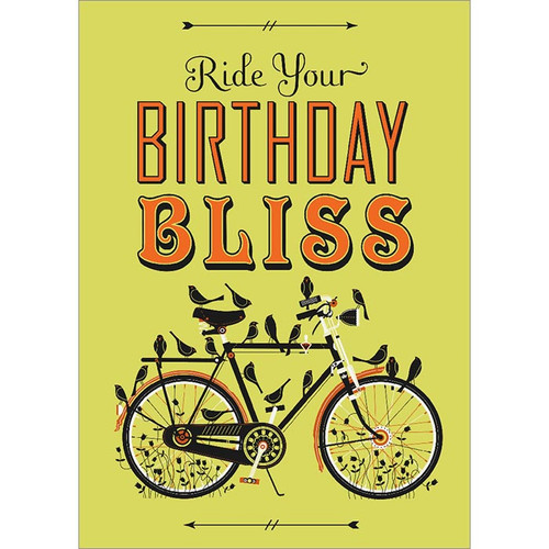 Ride Your Bliss Greeting Card