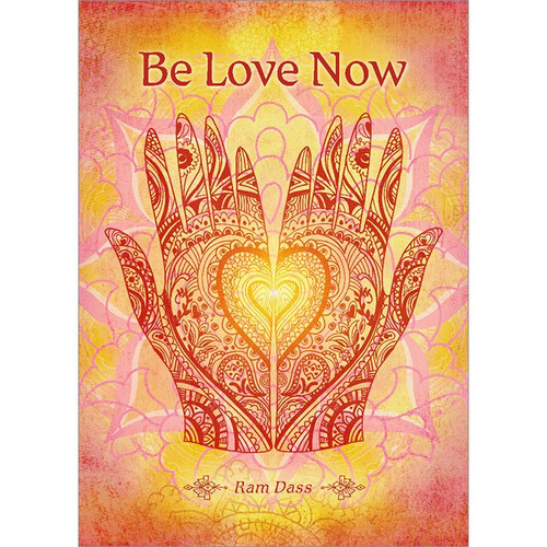 Be Love Now Greeting Card