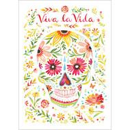 Viva la Vida Greeting Card