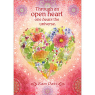 Through An Open Heart Greeting Card