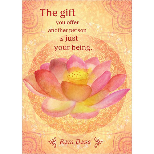 The Gift You Offer Greeting Card