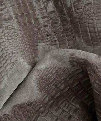 Croc Suede Grey