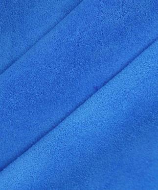 Calf Suede Electric Blue