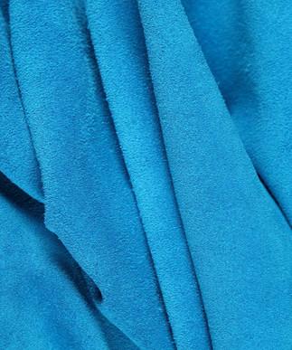 Calf Suede Royal Blue