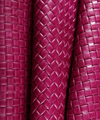 Basket Weave Fuchsia