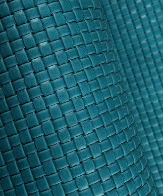 Basket Weave Turquoise