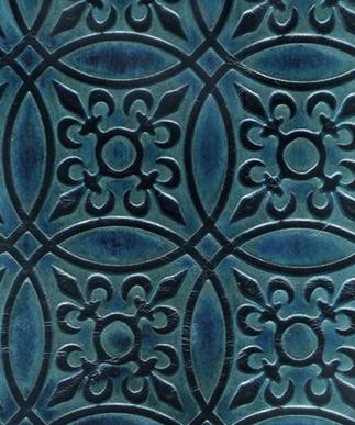 Circle Tile Teal