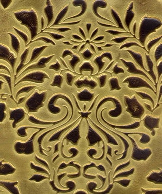 Verona Damask Golden Brown