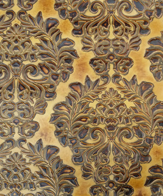 Verona Damask Sepia