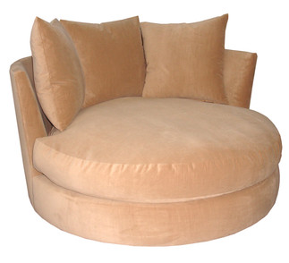 7076 Orbit Chaise with Swivel