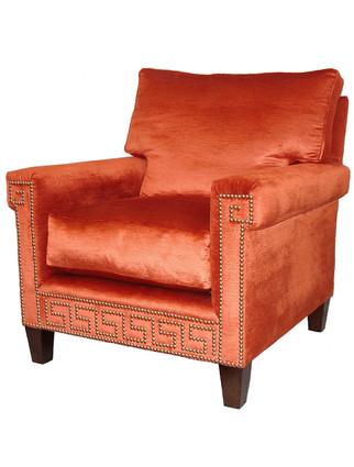 C9110 Greek Key Chair