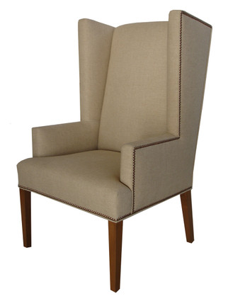 5627 Retro Wingback Dining Chair