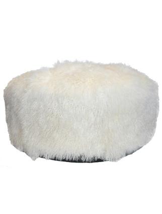 5228B Wooly Ottoman
