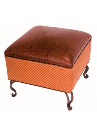 5316 Square Cake Ottoman