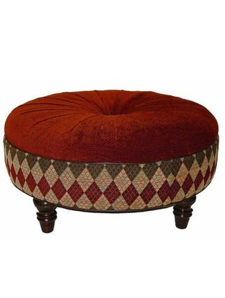 """3704 36"""" Round Ottoman"""