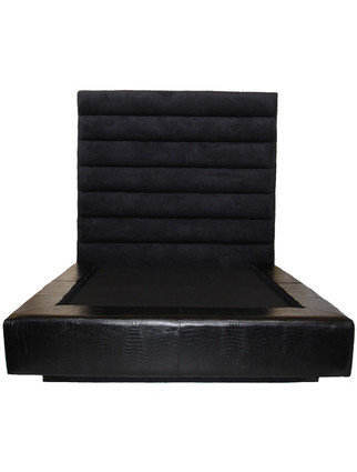 C7039 Channel Headboard with Surround Platform