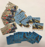 Racer Profile Stickers (30 Pack)