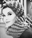 INSTANT DOWNLOAD PDF 1950s Vintage Crochet Pattern Flirty French Cap Hat and Collar Scarf Pattern Fabulous Early 60s Fashion