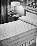 INSTANT DOWNLOAD PDF Striking Knitted Lace Tropic Seas Knit Bedspread Vintage Knitting Pattern 2 Sizes