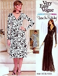 1970s Diane Von Furstenberg Wrap Dress Dress Pattern Vogue American Designer Original 1548 Vintage Sewing Pattern Wrapped Dress Wear Forward or Backward American Hustle Era Very Easy To Sew Bust 32.5 Vintage Sewing Pattern