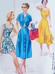 1950s Fabulous Weekend Beach Resort Pattern McCalls 3647 Bodice, Front Button Skirt, High Waist Shorts and Short Sleeved Bolero Jacket Bust 35 Vintage Sewing Pattern