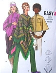 1960s  Poncho Capes Pattern Butterick 5937 Three Lengths and Fab Styles  EASY To Make Size Small Vintage Sewing Pattern FACTORY FOLDED