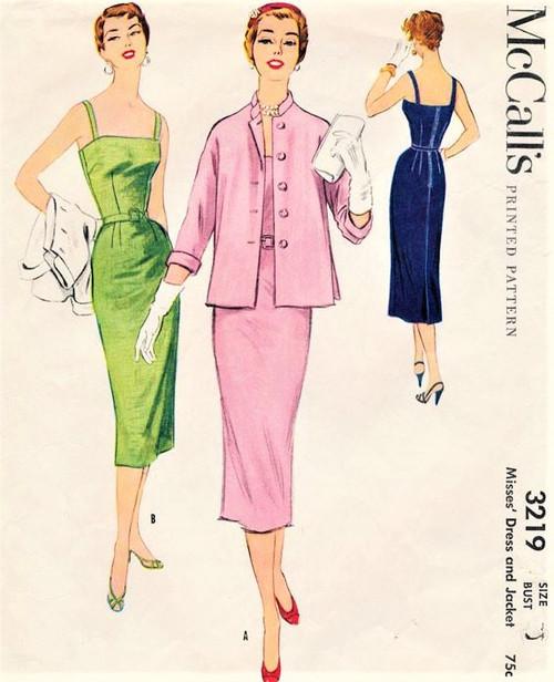 1950s McCall's 3219