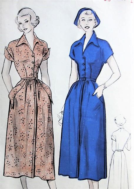 Butterick 5152 dress pattern