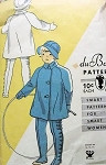1930S CHILD'S COAT, HAT, MITTENS, LEGGINGS VINTAGE DUBARRY PATTERN 1095